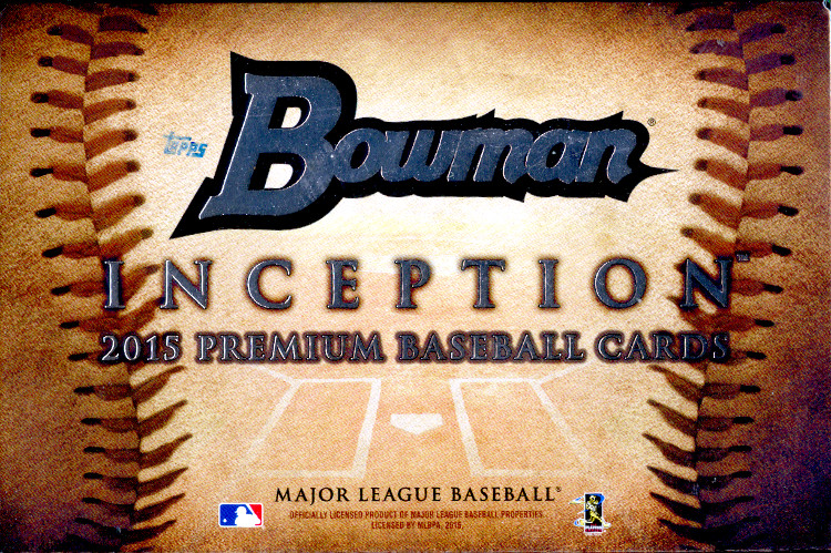 2015 Inception Baseball Group Break Checklists