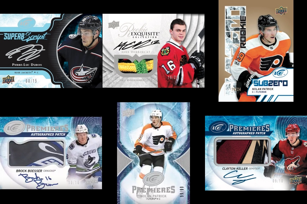 1af367a8c 2017-18 Upper Deck ICE Hockey ✯Group Break Checklists
