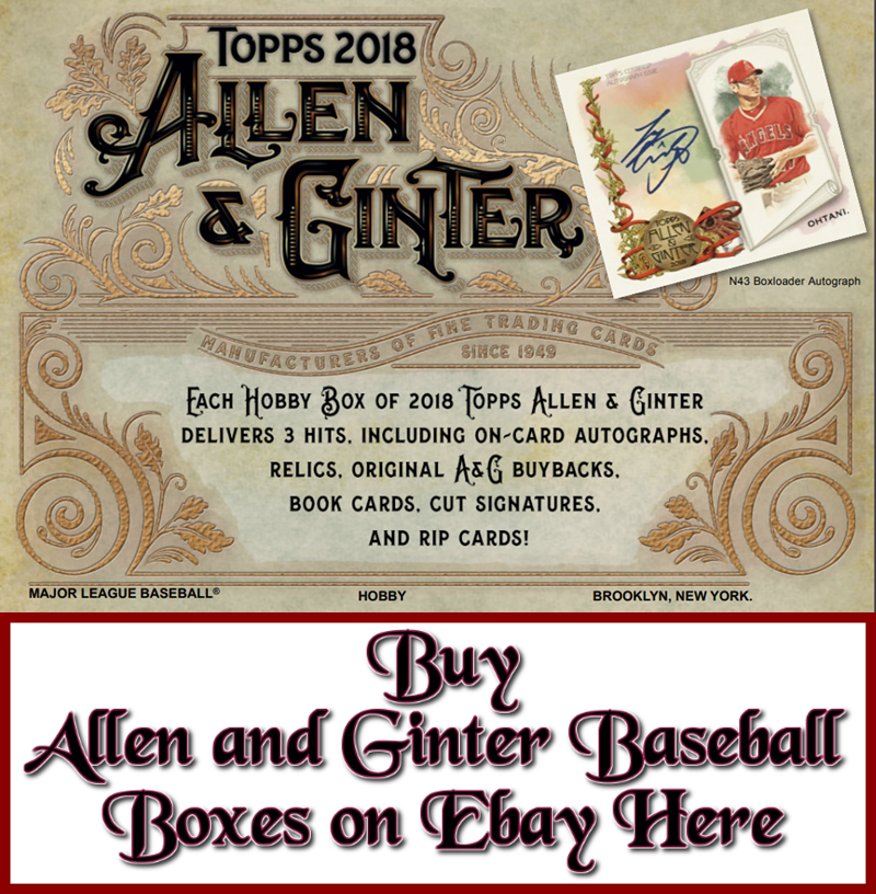 2018 Topps Allen and Ginter