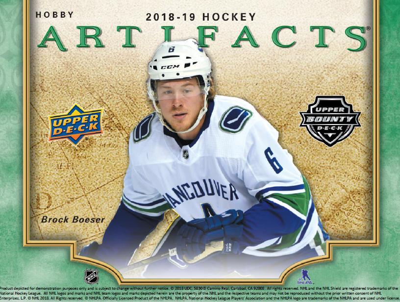 e3e496b84 2018-19 UD Artifacts Hockey ✯Group Break Checklists