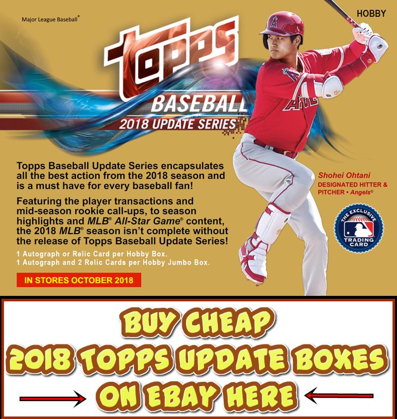 2018 Topps Update Baseball Group Break Checklists