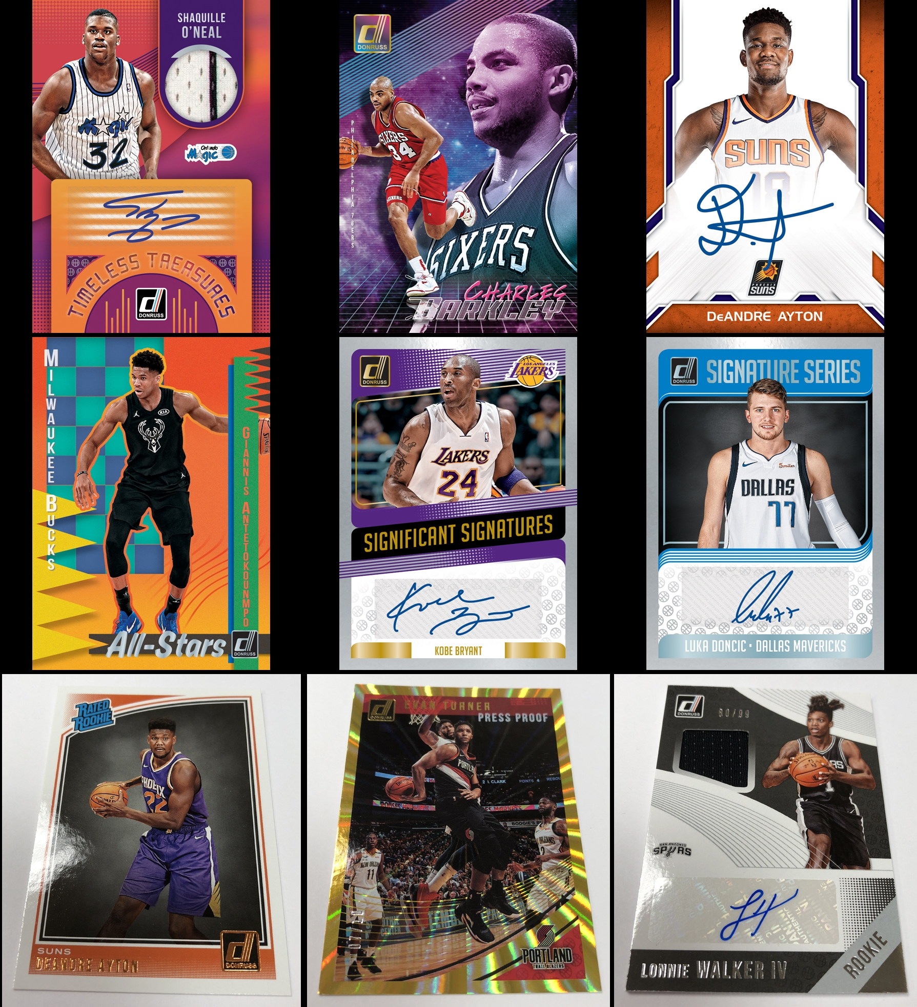 70ac1da8 18/19 Donruss Basketball – Singles and Box Prices on Ebay · Most Popular  Ebay Card Auctions Ending Tonight – Click Here