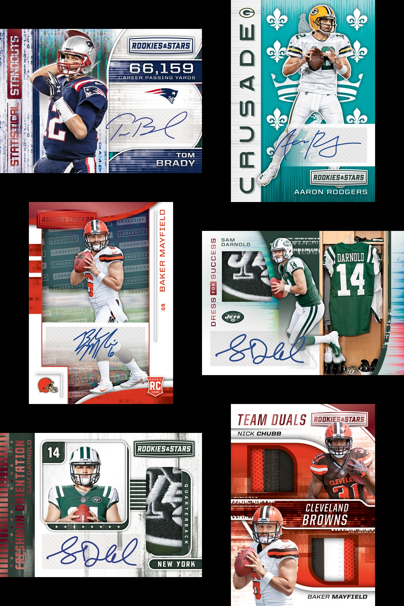 huge selection of 57900 ef1da 2018 Rookies and Stars Football ✯Group Break Checklists