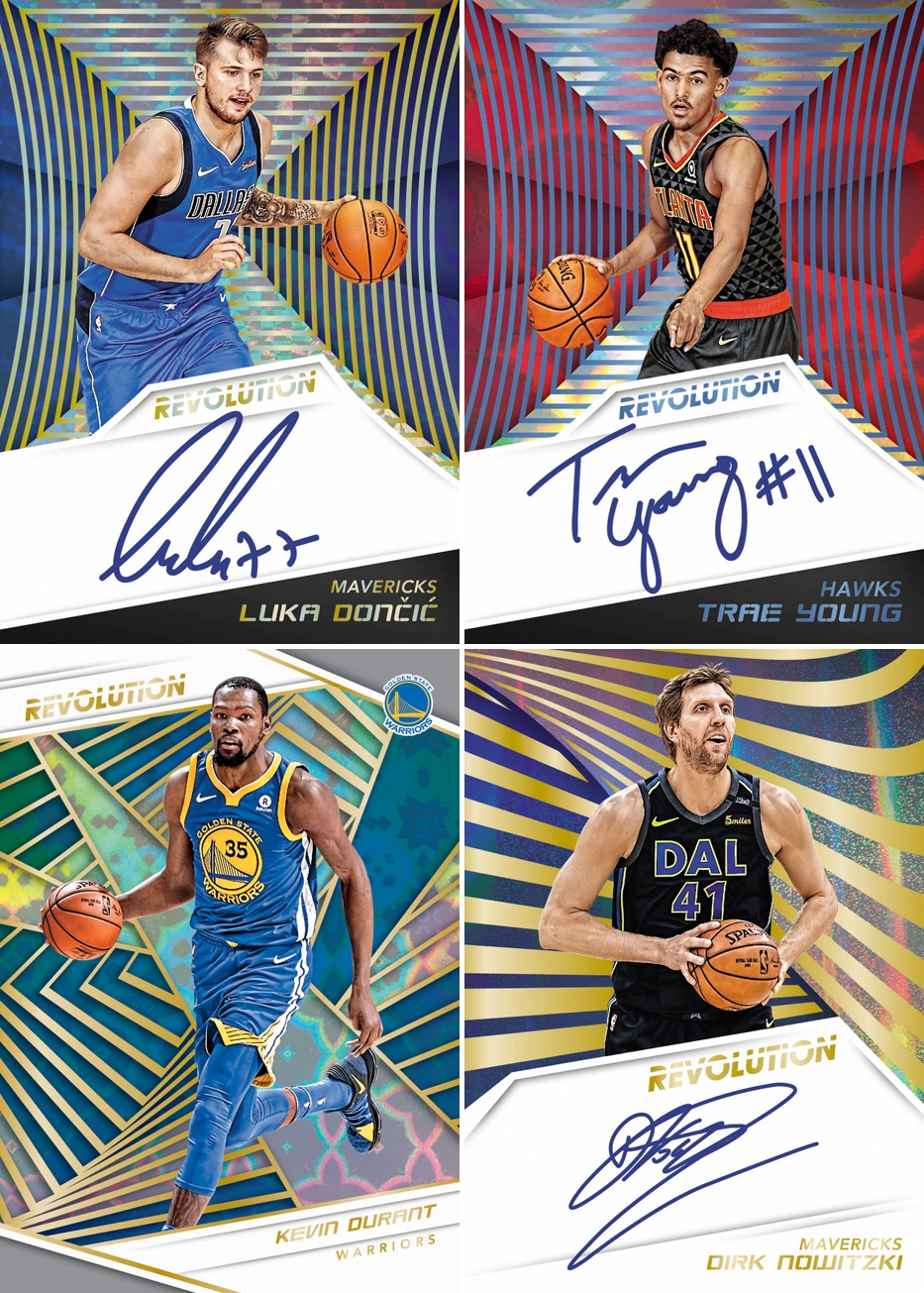 293f6bd6 All 18/19 Revolution Basketball Autographs are beautifully designed and ALL  on Card!