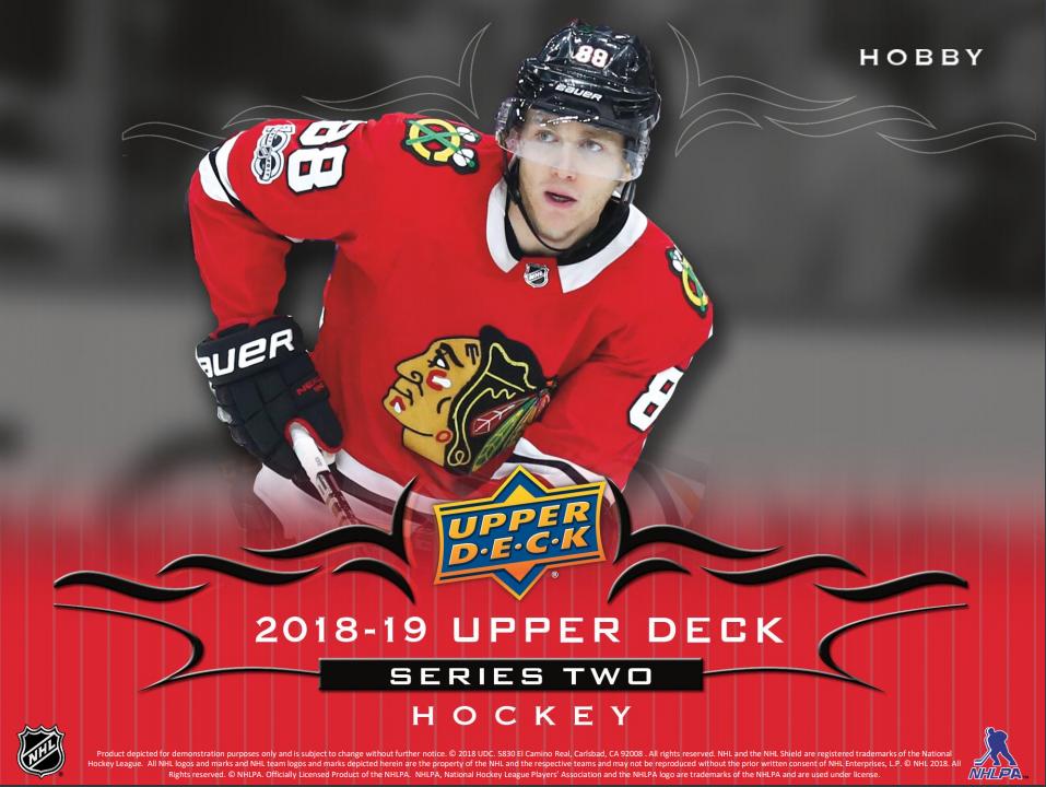 2018-19 Upper Deck Series 2 Hockey ✯Group Break Checklists 860364bd5