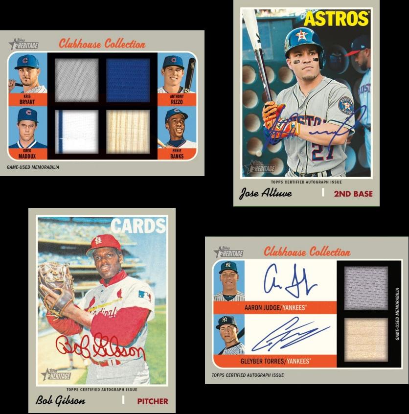 Guaranteed 2019 Topps Heritage Baseball 2 Case Team Auction