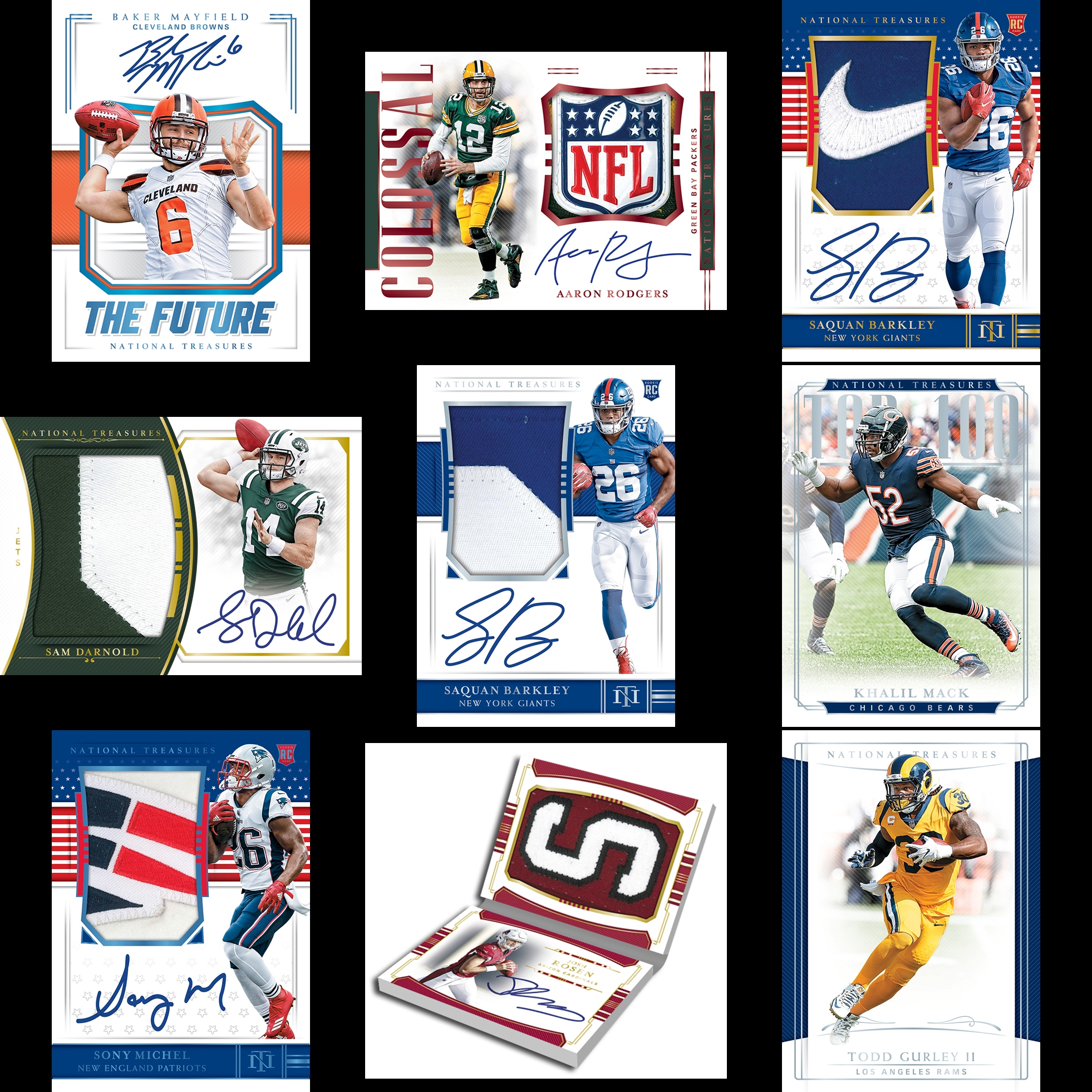 68c03c50c03 2018 National Treasures Football ✯Group Break Checklists