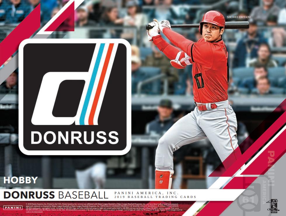 2019 Donruss Baseball Group Break Checklists