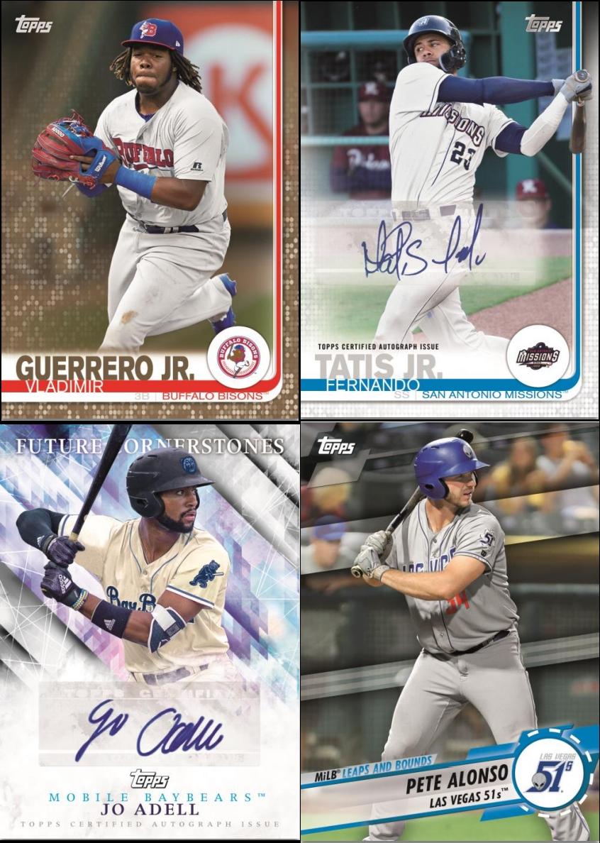2019 Topps Debut Baseball Group Break Checklists